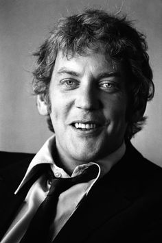 "Donald Sutherland--Loved him Kelly's heroes ""Stop with the negative waves"""