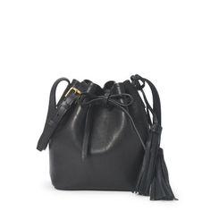 Fringed Leather Cross-Body - Shoulder Bags & Backpacks Handbags - Ralph Lauren Germany
