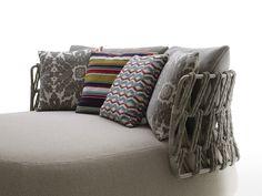 Upholstered garden armchair FAT-SOFA OUTDOOR   Armchair by B&B Italia Outdoor
