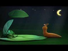 Dieren voor kinderen, De avonturen van slak Bang in het donker - YouTube