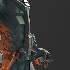 Sneak peak at a new project. Two characters done so far. #sculpt #zbrush #keyshot #3d #3dprinting #art #hardsurface by nassosa