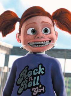 13 last-minute disney character costumes for a magical halloween - Disney Characters Costumes, Character Costumes, Disney Shirts For Family, Shirts For Girls, Darla Finding Nemo, Disney Pixar, Disney Memes, Nemo Costume, Braces Girls