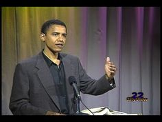 From the Vault • Barack Obama • SEP 1995 - YouTube Barack Obama, Dreams From My Father, Obama Speech, Presidente Obama, Out Of Touch, God Bless America, Michelle Obama, Way Of Life, 4th Of July