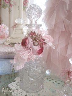 Ribbon Rose Bottle by mylulabelles, via Flickr
