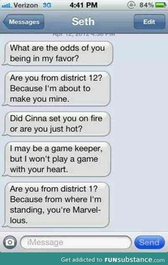 *hunger games pick up lines