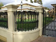 Hindmarsh Cast Aluminium Fences & Gates - traditional - products - adelaide - Hindmarsh Fencing & Wrought Iron Security Doors