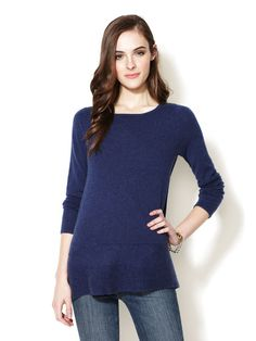 Long Cashmere Sweater by Design History on Gilt.com