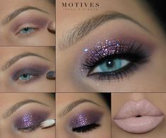 We're getting ✨NYE✨ ready all week long starting with this sparkly makeup look from mega babe 💖💖Here's what she used: -Eye Base Pressed Eyeshadow in -Stellar as transition shade - Eye Makeup Remover, Skin Makeup, Eyeshadow Makeup, Beauty Makeup, New Year's Makeup, Devil Makeup, Glamour Makeup, Cat Makeup, Clown Makeup