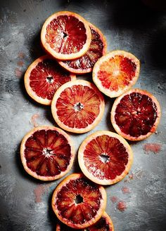 Blood Orange Slices /