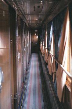 #Trans-Siberian Railway corridor by sararevell #trains