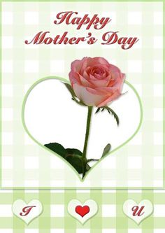 Free Printable Mother's Day Cards with Roses - my-free-printable-cards.com