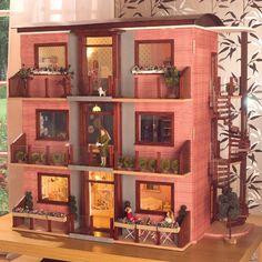 a dollhouse / apartment building!
