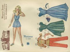 Marianne, Påklædningsdukker fra 1950s