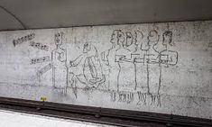 metro art stockholm - Google Search Stockholm Metro, Most Famous Artists, Nuclear War, Metro Station, Banksy, Vintage Photographs, In The Heights, The Past, History