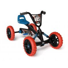 his go-kart not only looks fantastic, it is ideal for helping younger children learn to pedal. First with their feet on the ground and, before you know it, Mini Jeep, Mini Bike, 4 Wheel Bicycle, Homemade Go Kart, Karts, Kids Scooter, Pedal Cars, Bike Frame, Bike Design