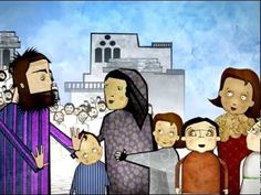 Parable of the Pharisee and Tax Collector Bible Videos For Kids, Bible Stories For Kids, Bible Crafts For Kids, Vbs Crafts, Bible For Kids, Pharisee And Tax Collector, Bible Parables, Story Retell, Ministry Ideas