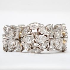 Diamond and Platinum Eternity Band