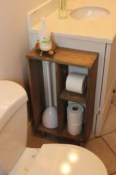 Easy toilet paper hanger