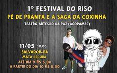 Salvador , convite dia 11/05 !