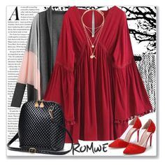 """www.romwe.com-LVII-8"" by ane-twist ❤ liked on Polyvore featuring romwe"