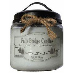 FallsBridgeCandles Musk Jar Candle Size:
