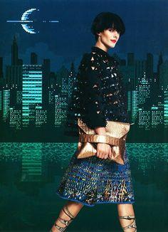 #MMissoni | Digital Batik Jacquard Skirt | DV_Mode Magazine, Sweden