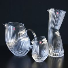Iittala Gluck pitchers