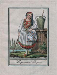 1780 Aargau Argovie Schweiz Suisse Aargauer Tracht Trachten Kupferstich | eBay
