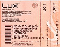 @ LUX a 28-07-2013 - Lisboa , Portugal