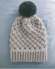 Creative Image of Basket Weave Crochet Hat Pattern Basket Weave Crochet Hat Pattern Aspen Basket Weave Beanie Pattern Crochet Beanie Pattern Bonnet Crochet, Easy Crochet Hat, Crochet Hat For Women, Crochet Beanie Pattern, Crochet Gifts, Crochet Yarn, Crochet Patterns, Free Crochet, Motifs Beanie