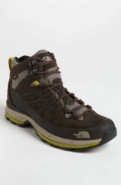 The North Face 'Wreck Mid GTX' Hiking Boot on Wantering | Winter Trends for Men | Mens Hiking Boots | mens style | mens fashion | wantering http://www.wantering.com/mens-clothing-item/the-north-face-wreck-mid-gtx-hiking-boot/abmvV/