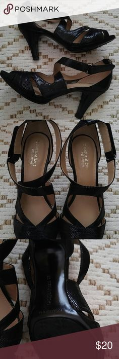 Naturalizer dress sandals NWOT Never wore. Just weren't my thing..really cute though. Naturalizer Shoes Sandals