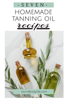 Homemade Tanning Oil Recipes Want to learn how to make your own homemade tanning oil? You're in luck! Here in this article, you'll find 7 easy homemade tanning oil recipe ideas that you must try this summer. Tanning Oil Homemade, Diy Tanning Oil, Homemade Tan, Home Remedies For Skin, Natural Remedies, Organic Makeup Brands, Essential Oils For Sleep, Oil Recipe, Recipe Ideas