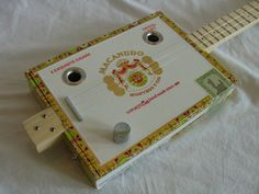 Cigar Box Guitar  Macanudo  3 Strings by NashvilleCBG on Etsy, $135.00