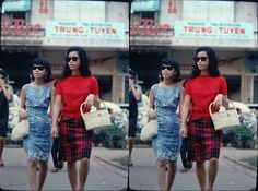 Style Queens of Saigon - until the early 1970s, before the fall of Saigon, street fashion in South Vietnam adopted elements of the western Mod look.