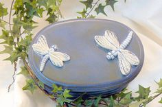 Oval Dragonfly Jewelry Box @Michelle Brungardt Weigel #dteam