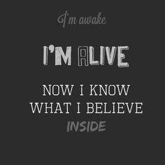 """""""Awake and Alive"""" - Skillet"""