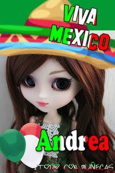 Imagenes, fantasia y color: MUÑEQUITAS VIVA MEXICO .