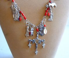Mexican Jewelry - Milagro Necklace