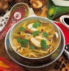 Chicken and Bamboo Shoot Soup - Your Fibro Support Bamboo Shoots, Stir Fry Recipes, Shredded Chicken, Thai Red Curry, Cravings, Fries, Soup, Stuffed Peppers, Meals