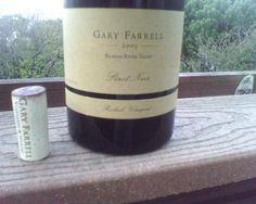 Gary Farrell Pinot Noir, Russian River Valley