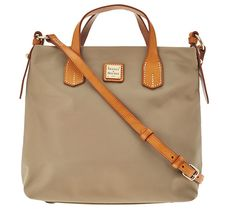 Dooney & Bourke Windham Nylon Cleo Crossbody Bag — QVC.com