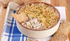 Warm Crab Dip - In the Kitchen with Stefano Faita