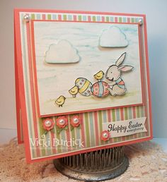 It's a Stamp Thing: SSSC155....Easter Bunny