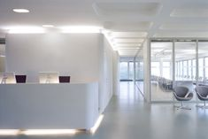 white corporate headquarters interiors - Google Search