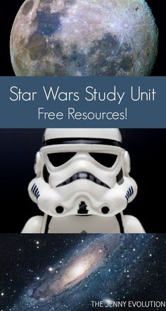 FREE Star Wars Study Unit Resources + Children's Books About Space