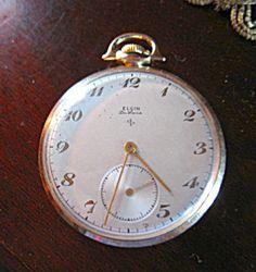 Vintage Elgin Pocket Watch - Henry Ford Signed (Pocket Watches) at More Than McCoy Gold Pocket Watch, Vintage Pocket Watch, Time Time, 35th Anniversary, Henry Ford, Pocket Watches, Exercise, Signs, Ejercicio