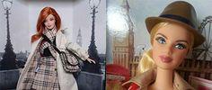Midge y Barbie fotografiadas en Londres