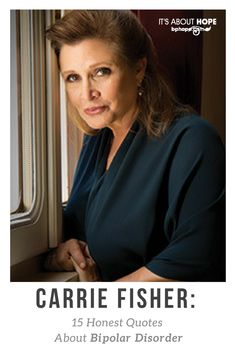 Recognized everywhere as #PrincessLeia and respected as a prolific author, the late #CarrieFisher was a true heroine for rebelling against the stigma of #bipolardisorder. She was also instrumental in the launching ofbp Magazine, gracing three covers since 2004. Here is just a sampling of wise words that have inspired a #mentalhealth community:
