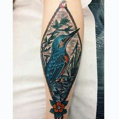 Kingfisher tattoo Kingfisher Tattoo, Deathly Hallows Tattoo, Tattoos, Tatuajes, Tattoo, Tattos, Tattoo Designs